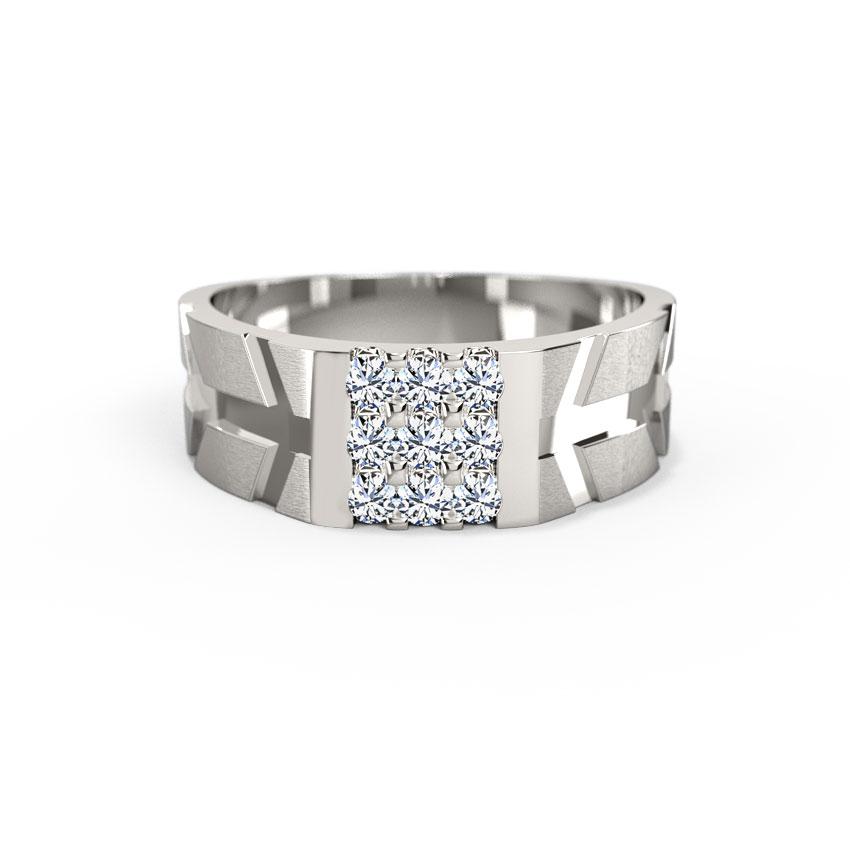 Luke Platinum Ring for Him
