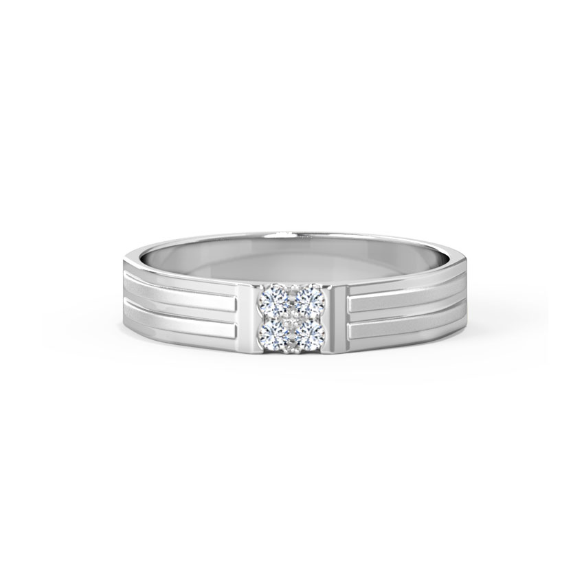 Aaron Platinum Band for Him