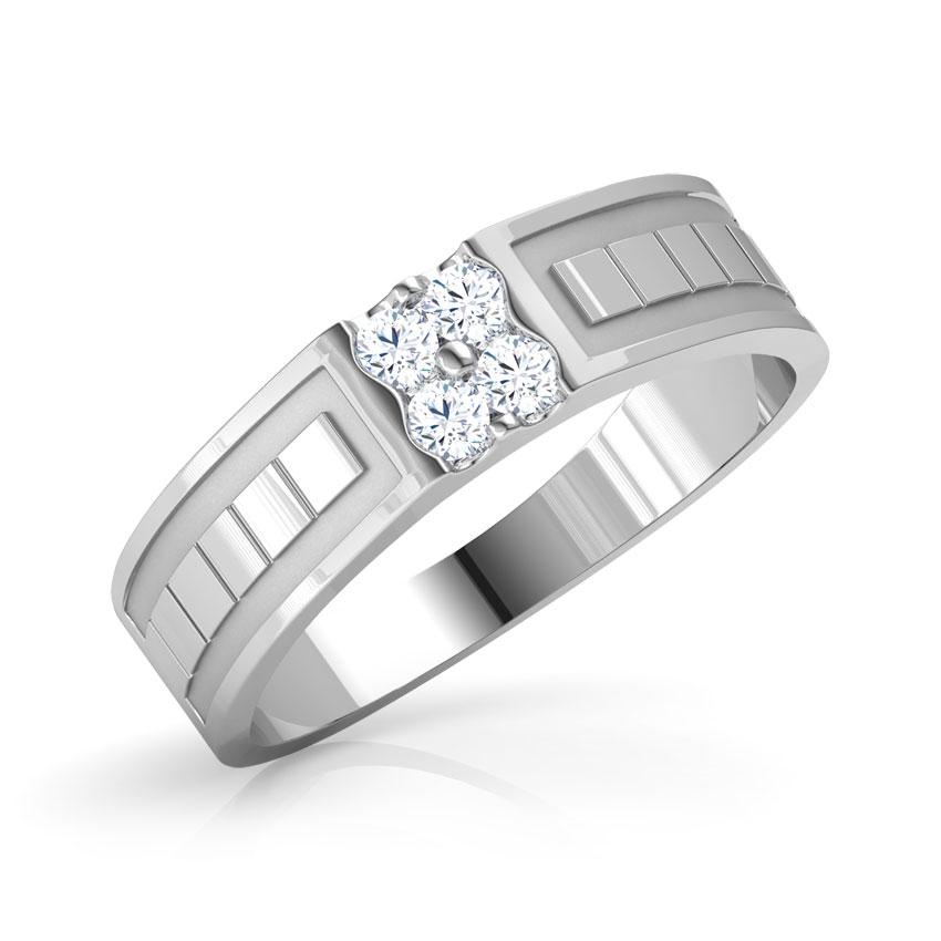 Steve Platinum Ring for Him