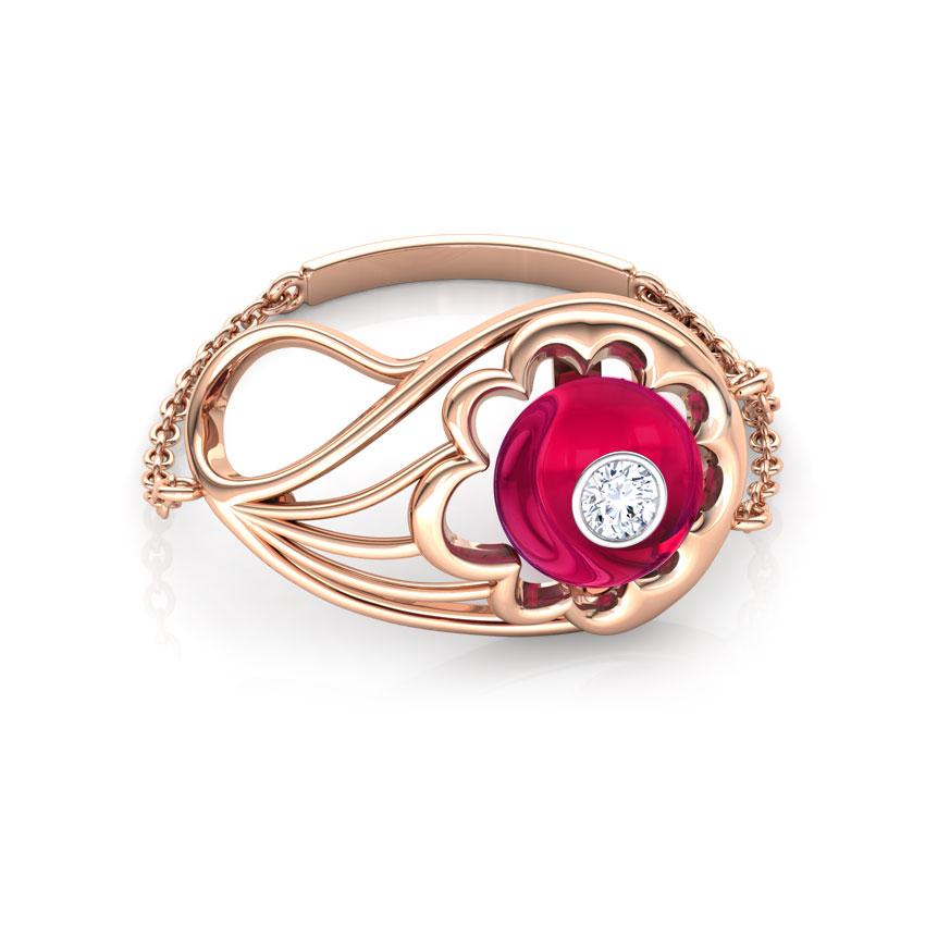 Exquisite Paisley Ring
