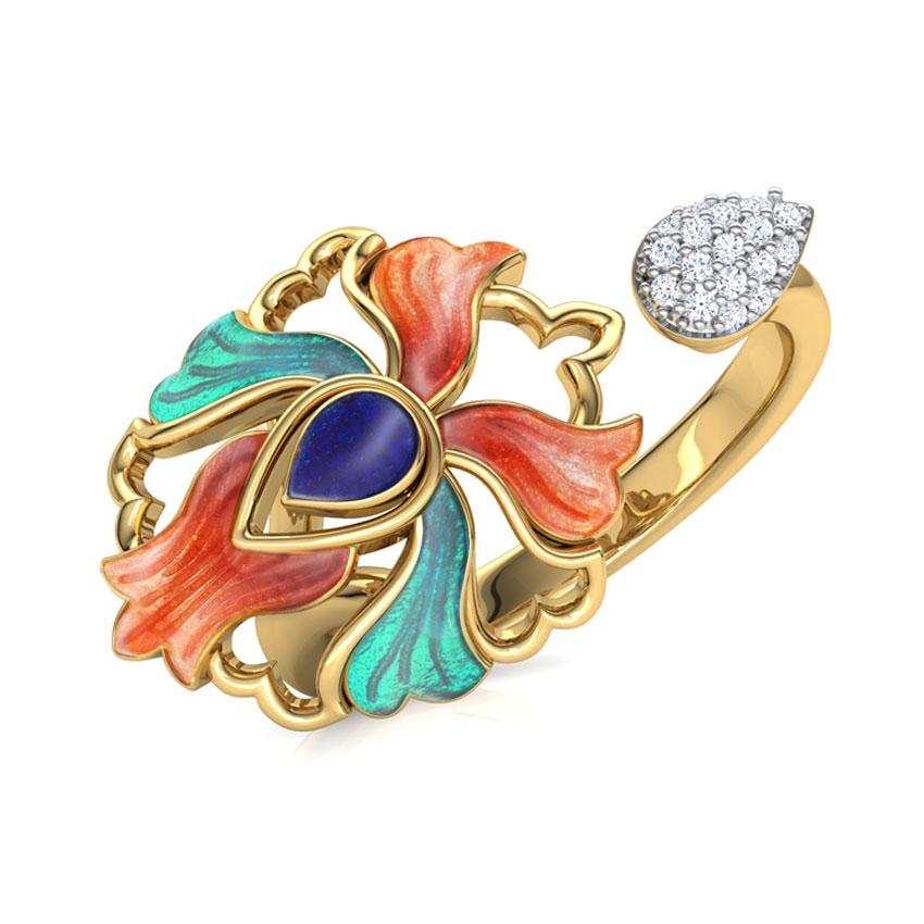 Firoza Iris Ring