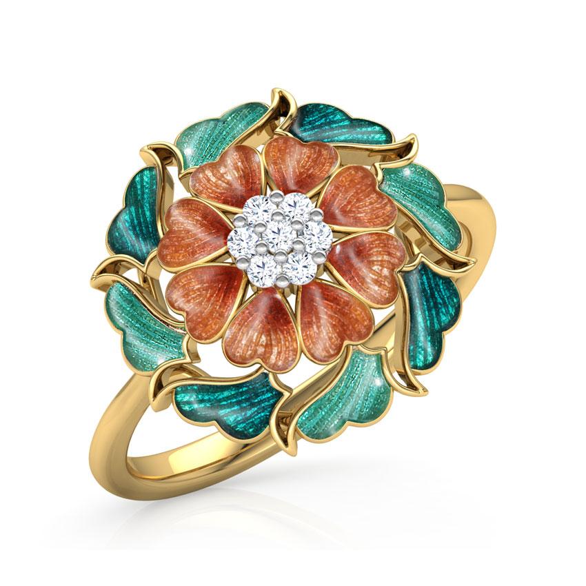 Maira Floral Ring