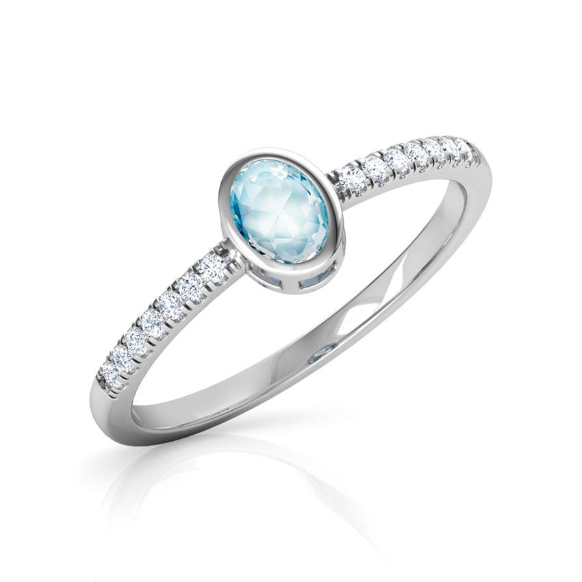 Topaz Ovate Ring