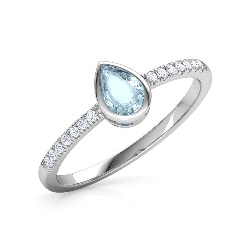 Topaz Drop Ring