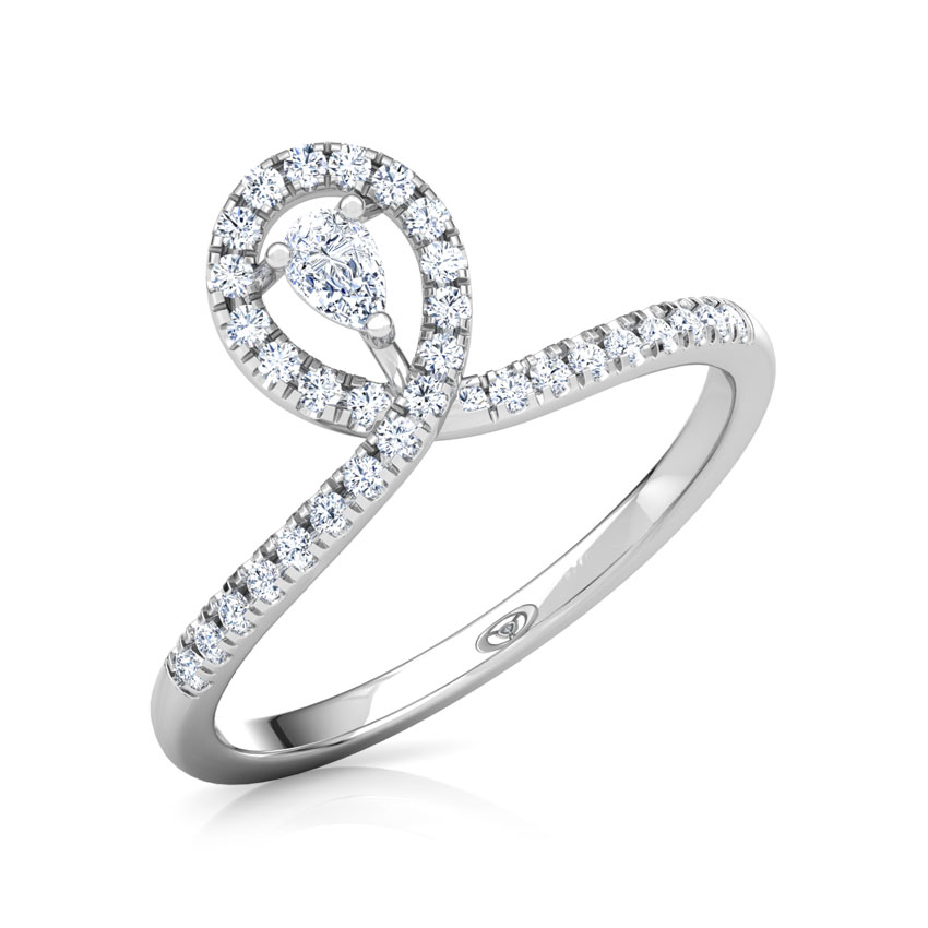 Sparkling Twine Promise Ring