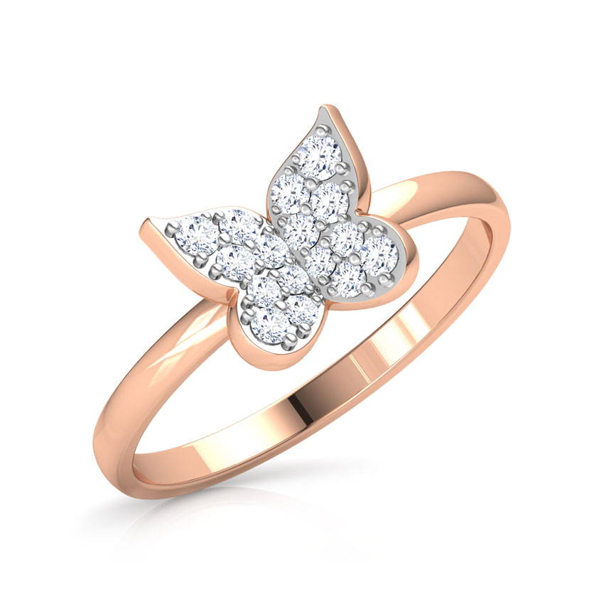 Minimalistic Butterfly Ring