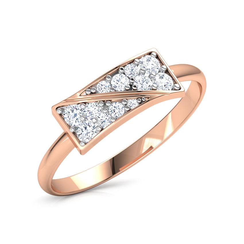 Modern Oblique Ring