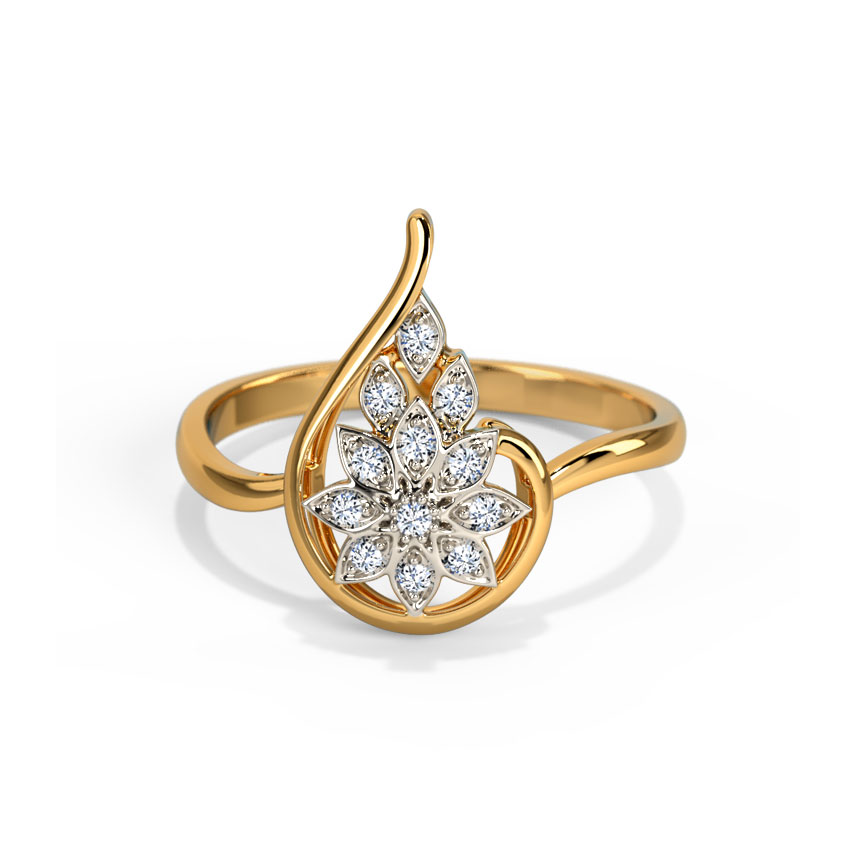 Shining Petals Ring