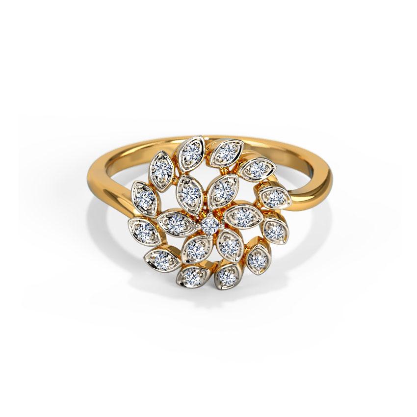 Flickering Petals Ring