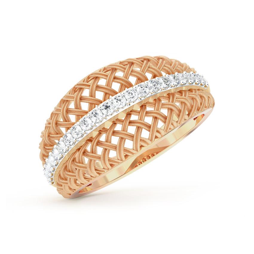 Sleek Twill Ring