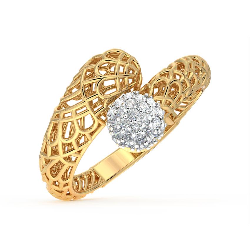 Enfold  Mesh Ring