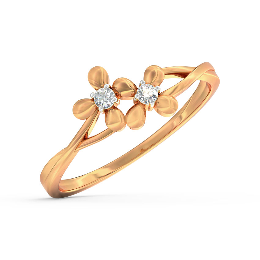 Duo Bloom Ring