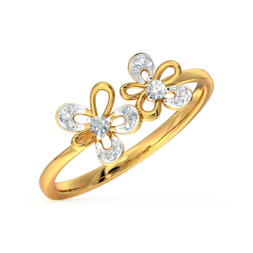 Buttercup Floral Ring