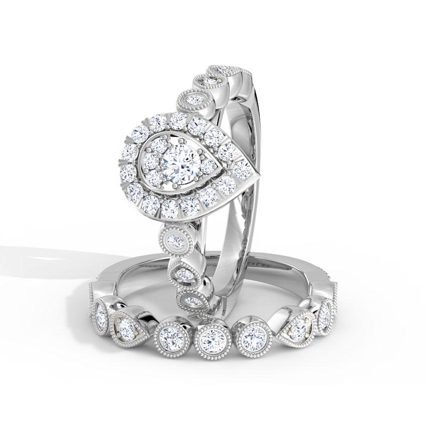 Brilliance Bridal Ring Set