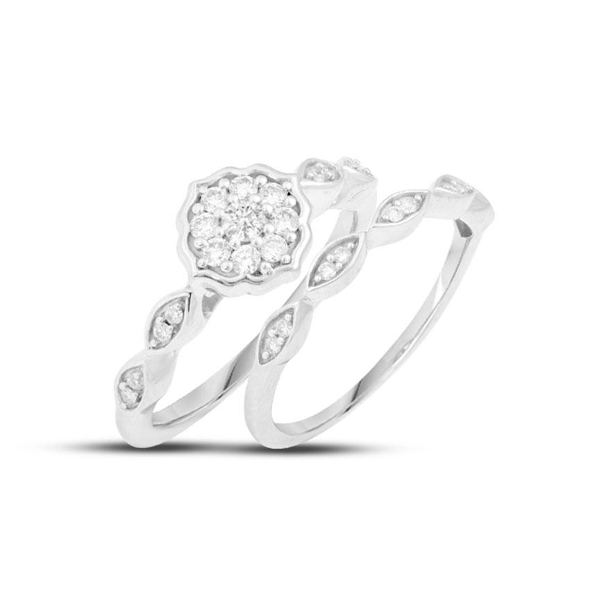 Radiance Bridal Ring Set