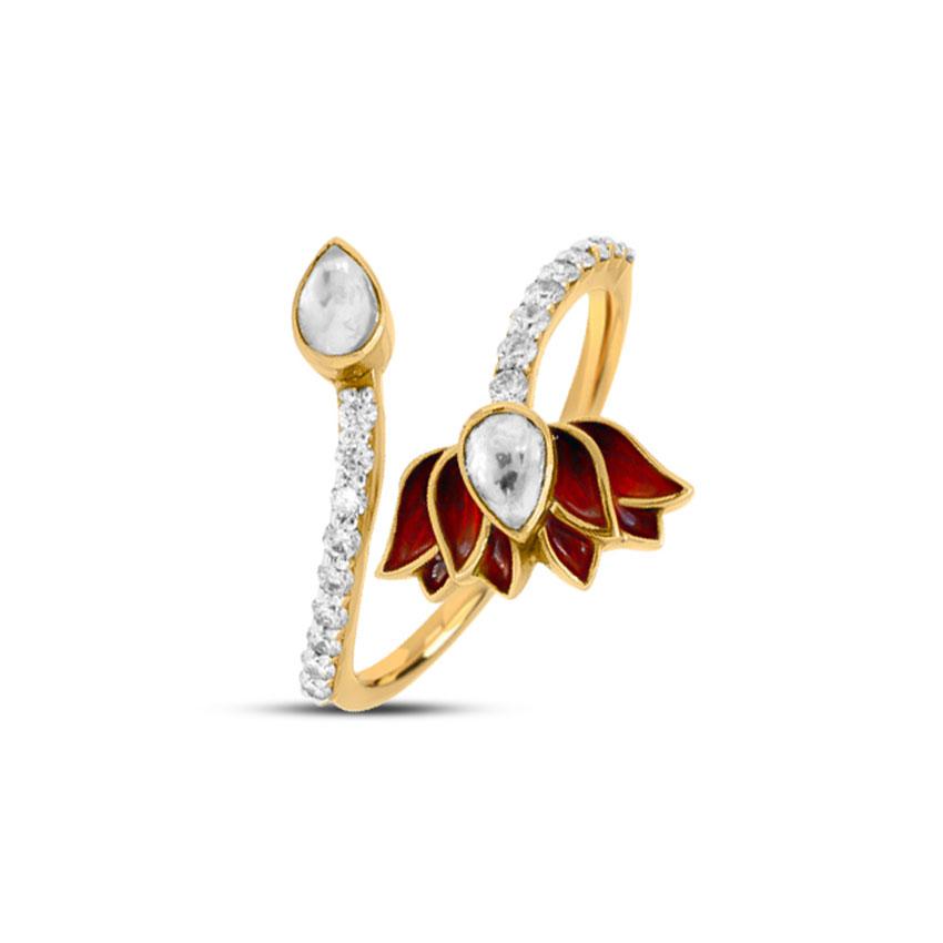 Flourishing Lotus Ring