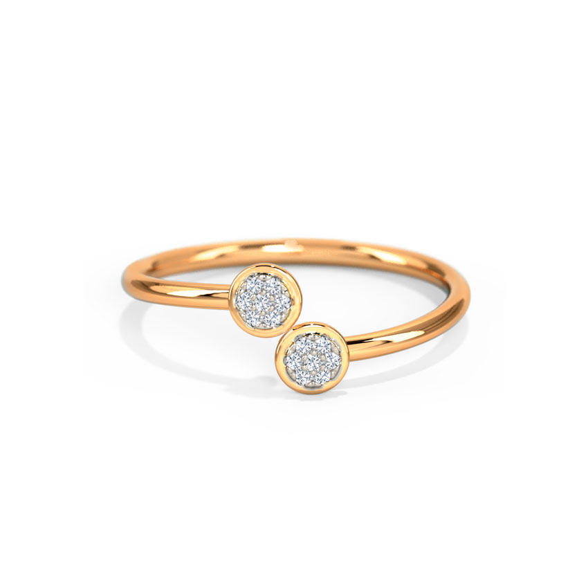 Duo Sparkle Ring