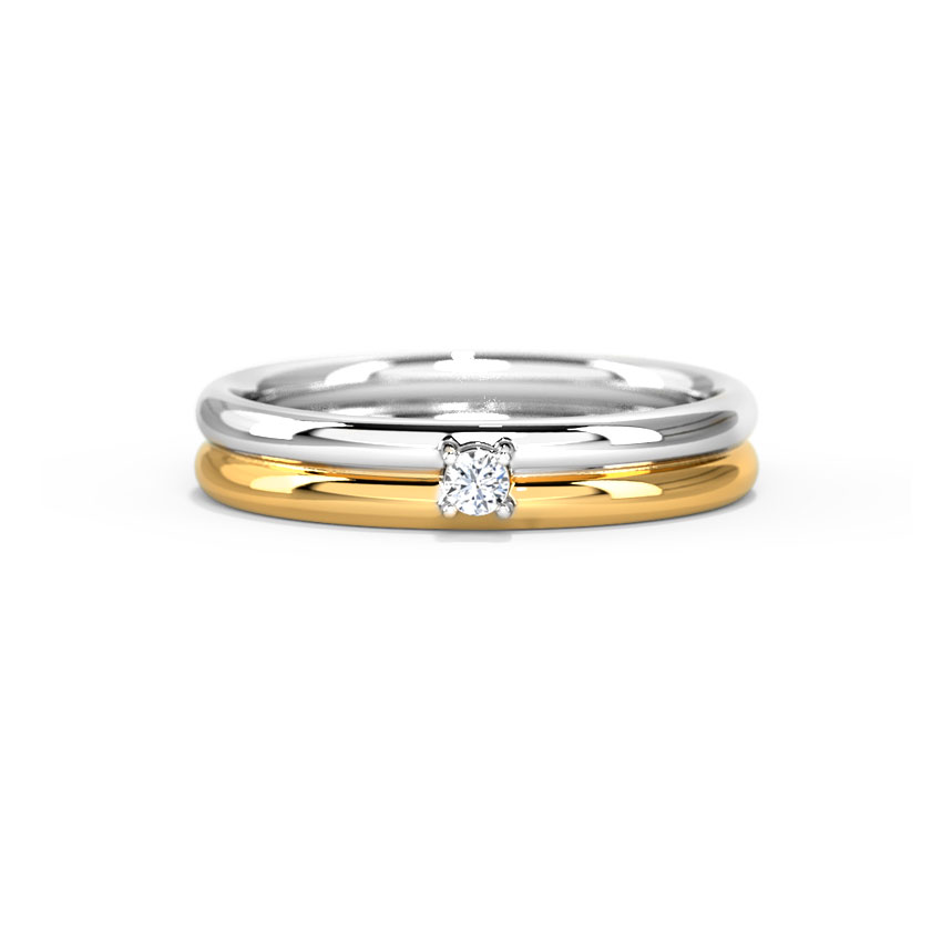 Classic Two-Tone Ring