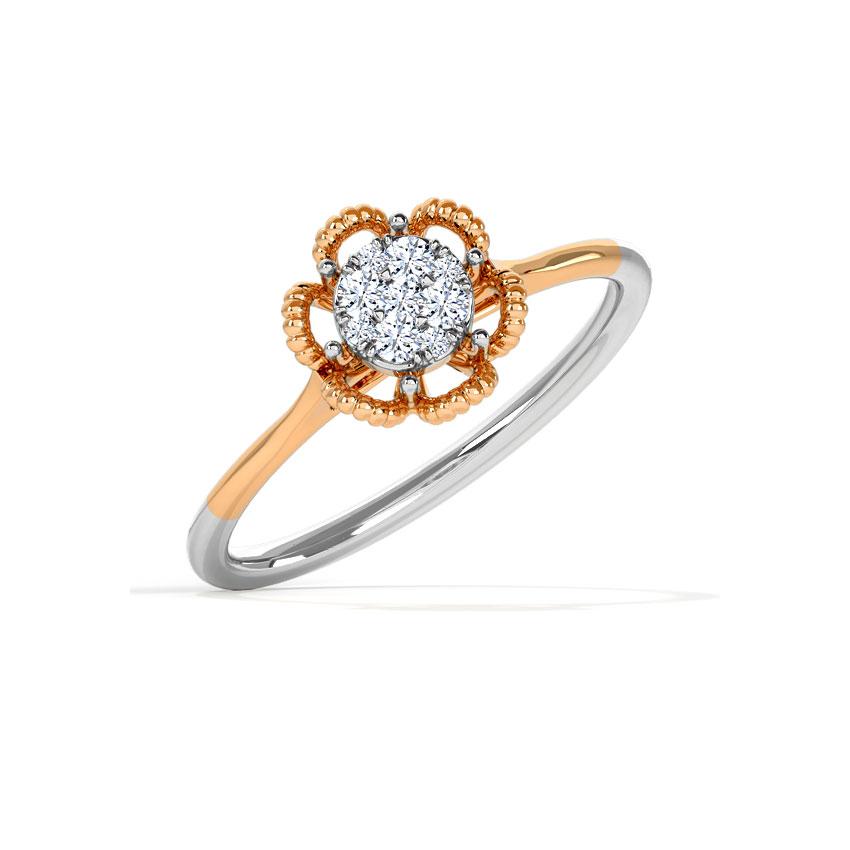 Floret Cluster Ring