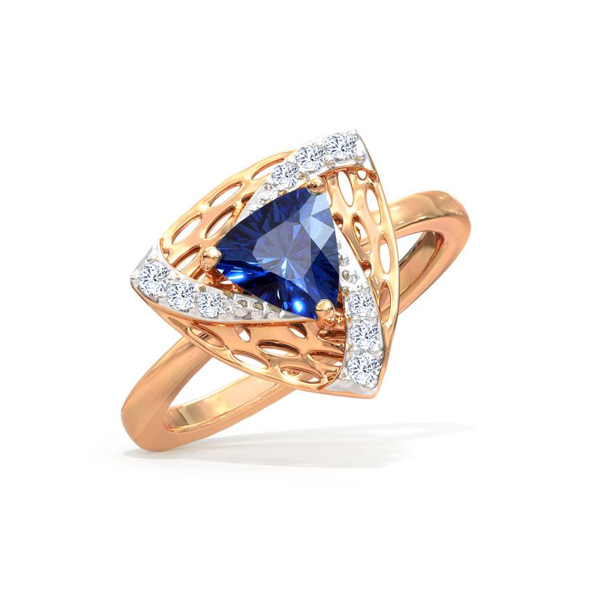 Azure Trillium Ring