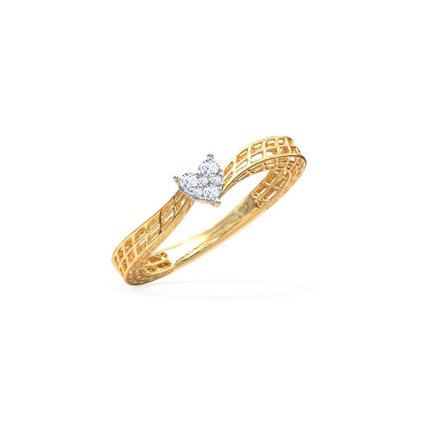Love Mesh Ring