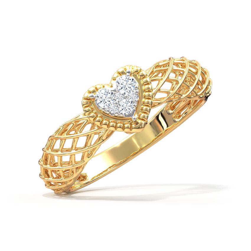 Amore Mesh Ring