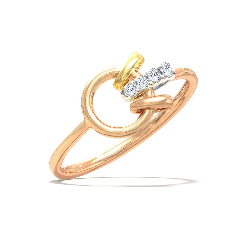 Rose Interlooped Ring