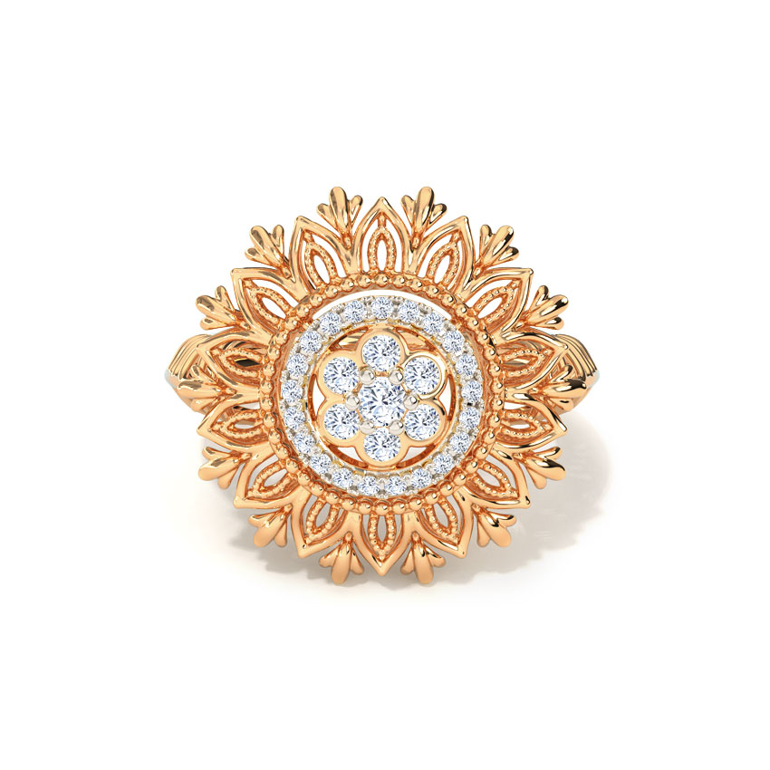 Layana Cluster Ring