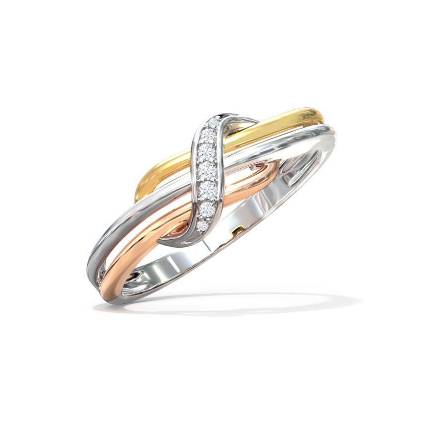 Nova Twist Ring