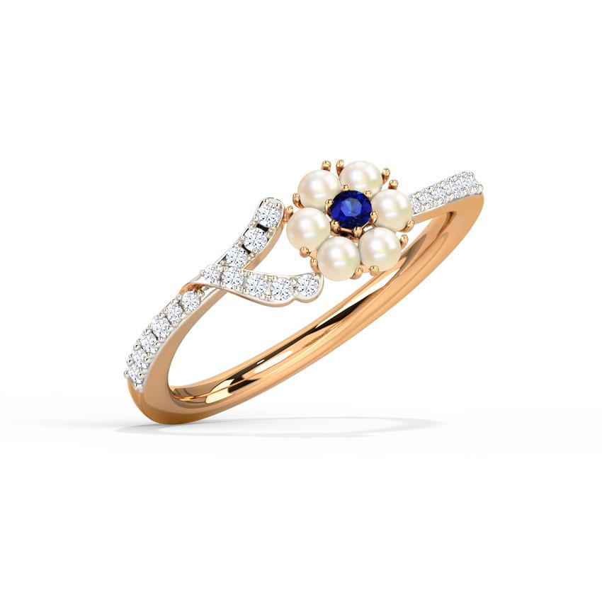 Diamond,Gemstone Rings 18 Karat Yellow Gold Charlene Diamond Ring