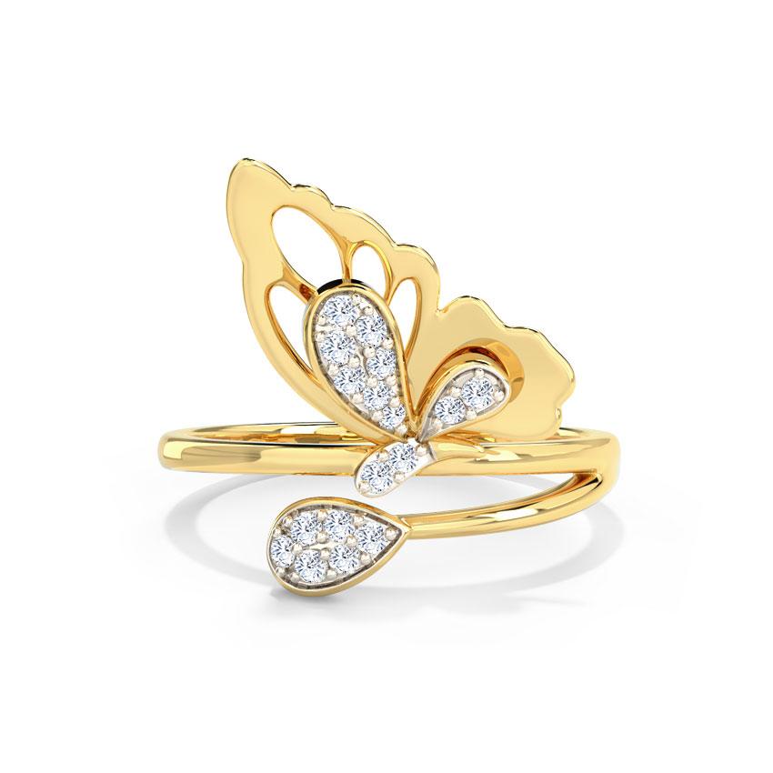 Dazzling Flutter Ring