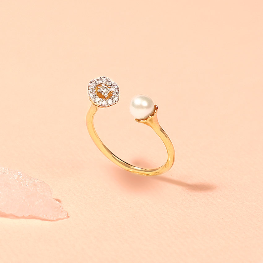 Pearl Orb Ring