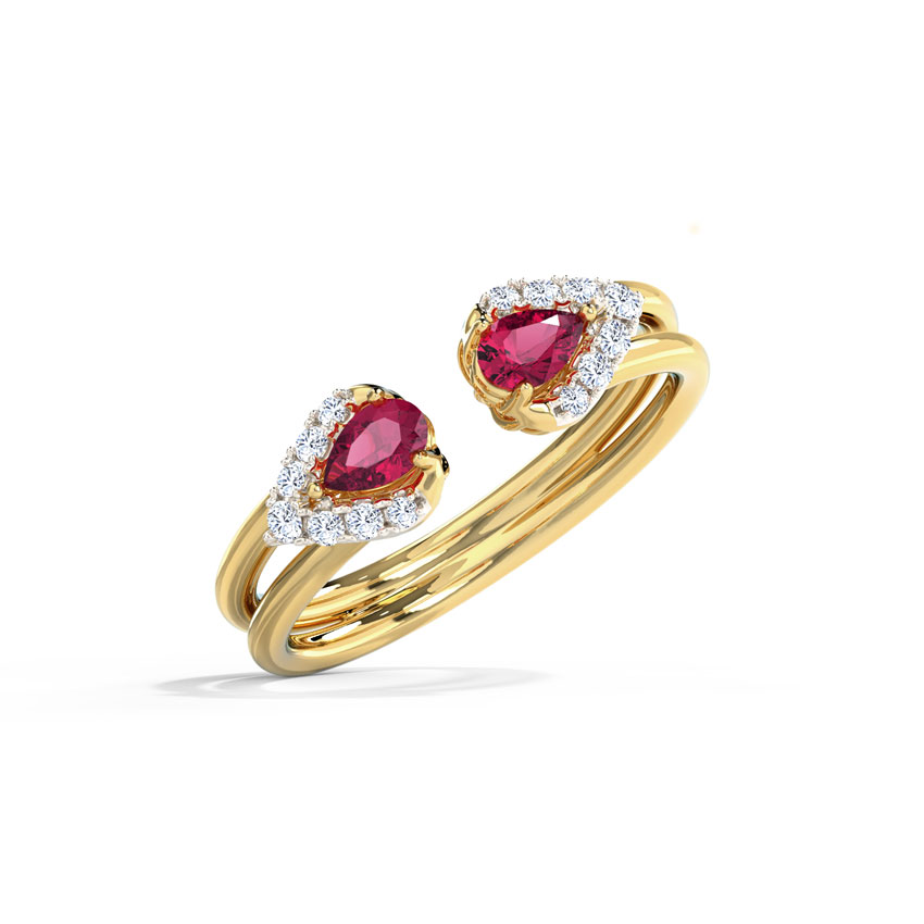 Rosy Drop Ring