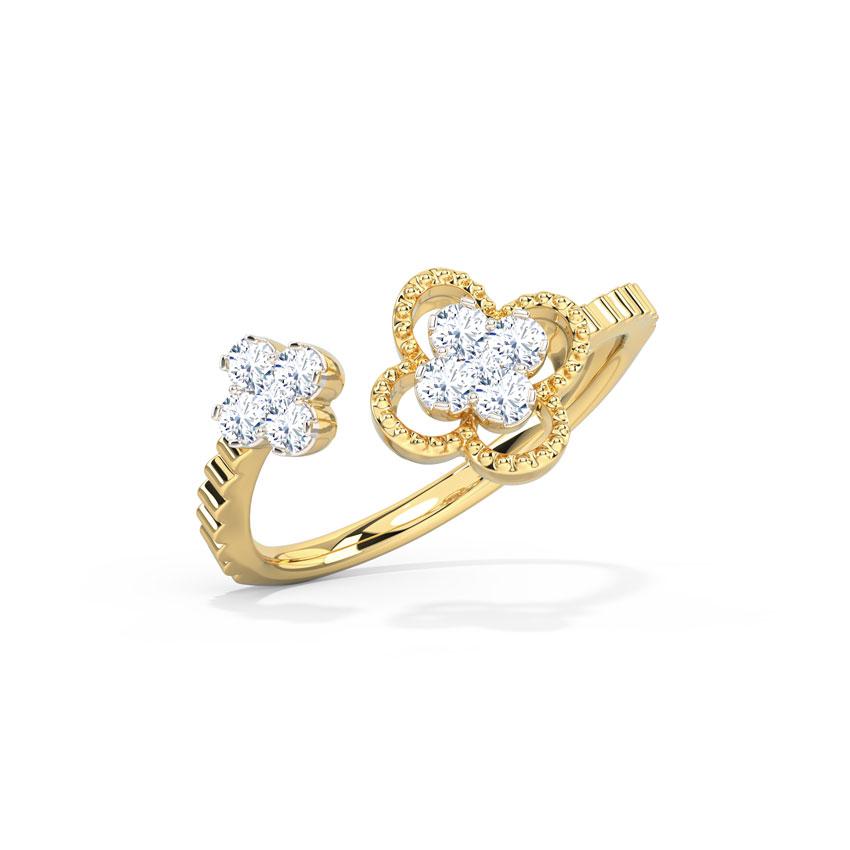 Ornate Clover Ring