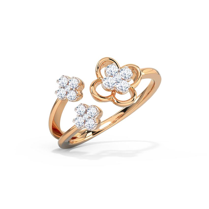 Sheer Clover Ring