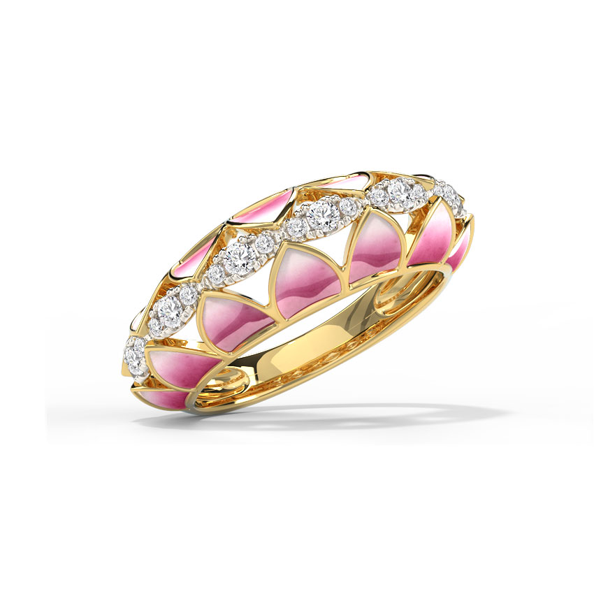 Allure Lotus Ring