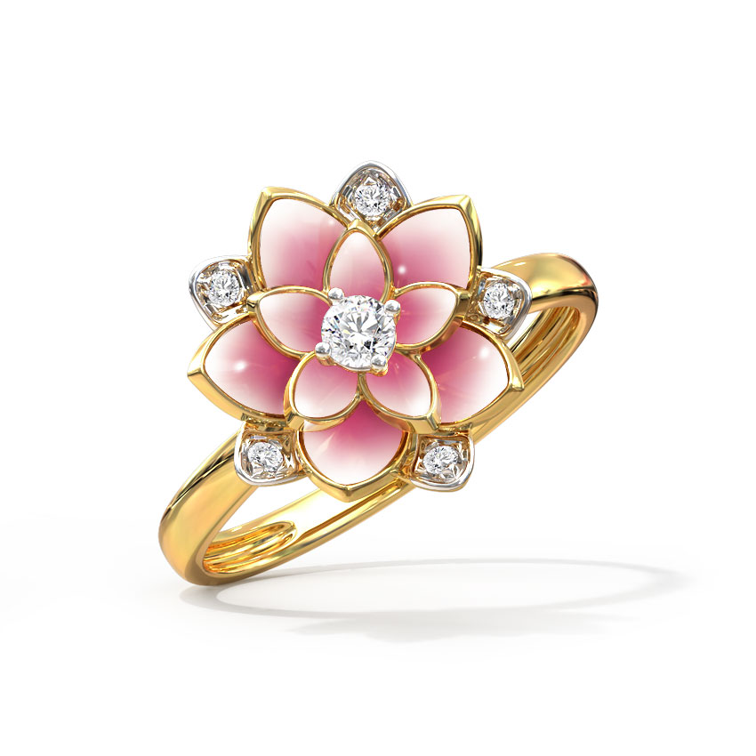 Magnificent Lotus Ring