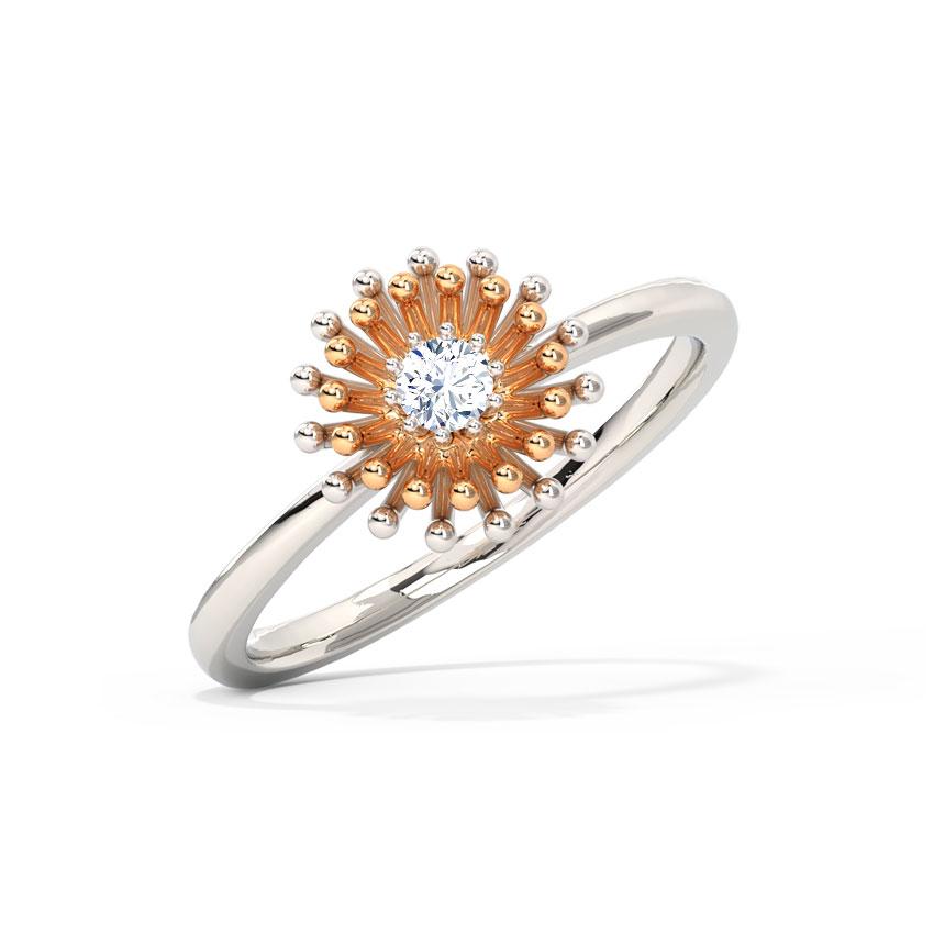 Sparkle Cluster Ring