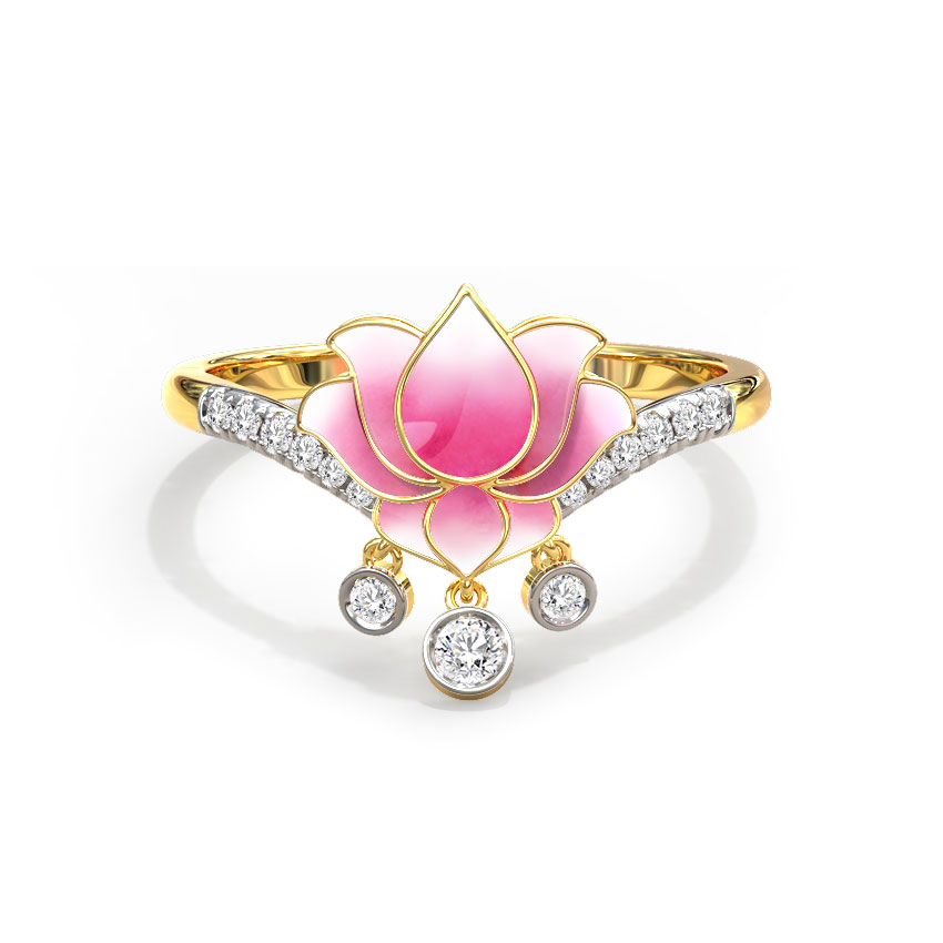 Radiance Lotus Ring