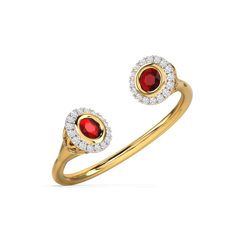 Alluring Deuce Ring