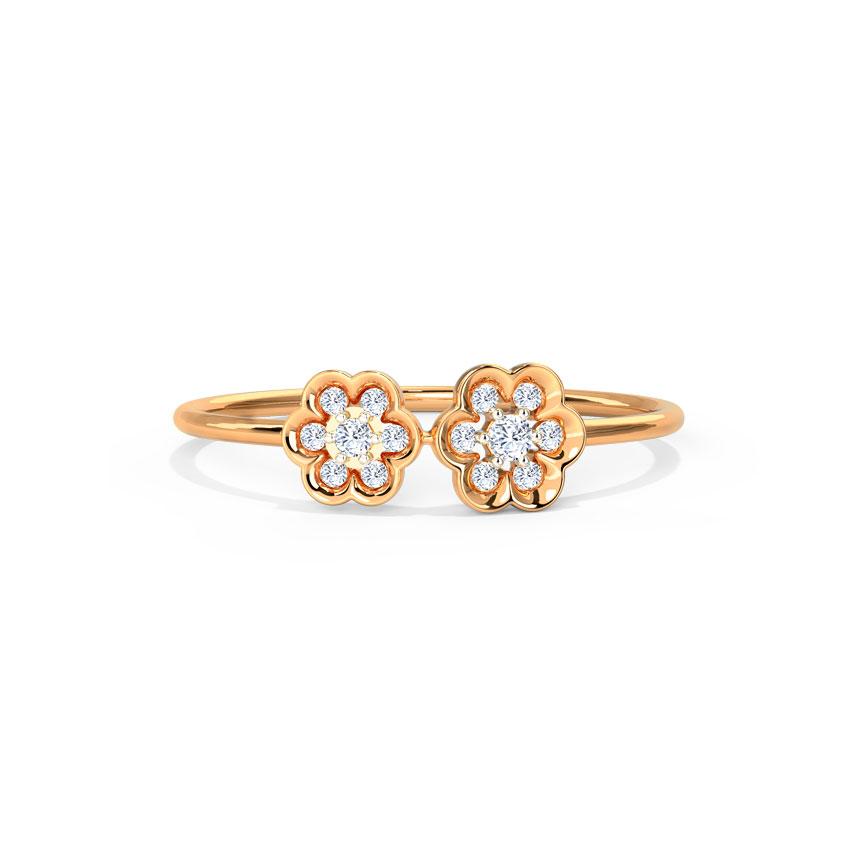 Sparkle Blossom Ring