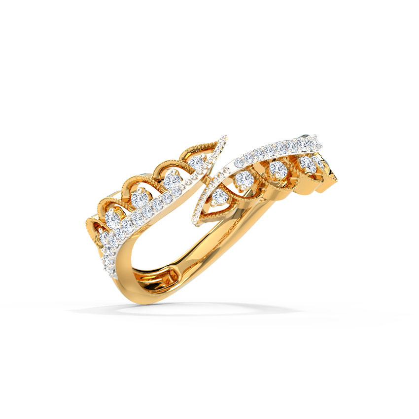 Roseate Diamond Band