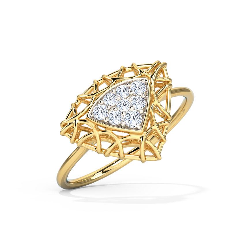 Trinity Mesh Ring