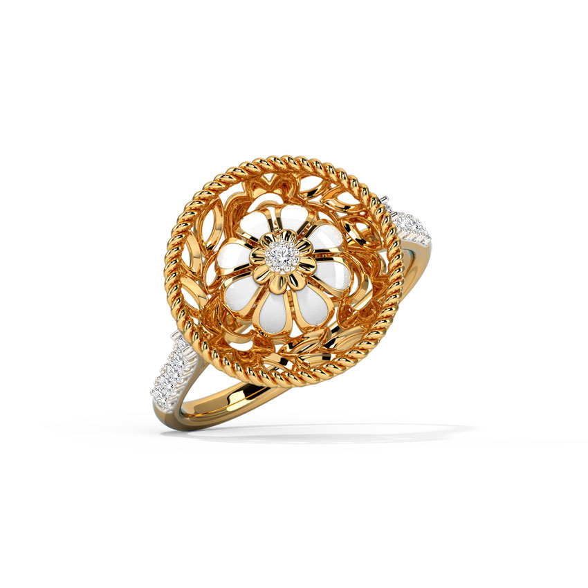 Unstoppable Flowery Ring