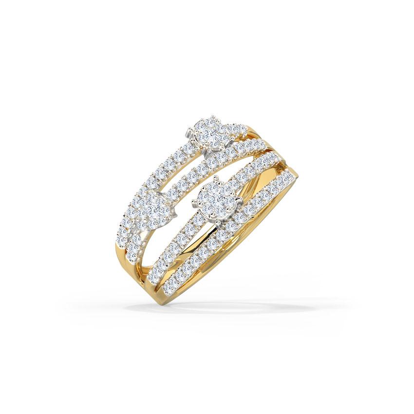 Grandiose Cluster Diamond Band