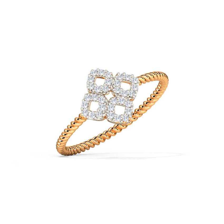 Glinting Bloom Ring