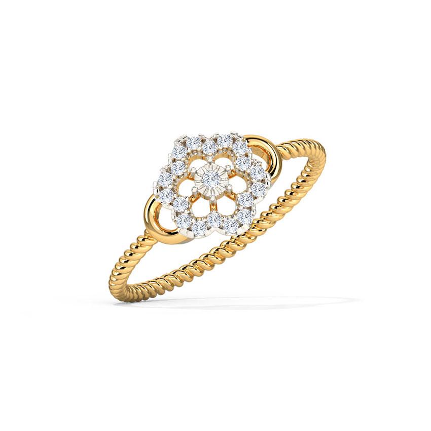 Delicate Blossom Ring