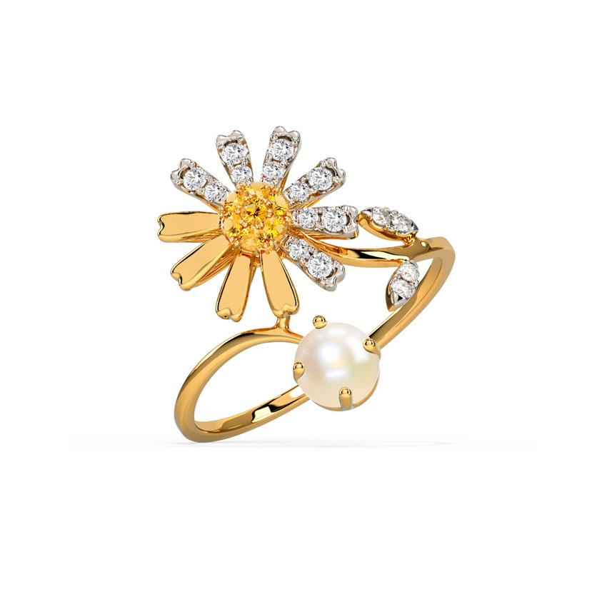 Glowy Daisy Ring