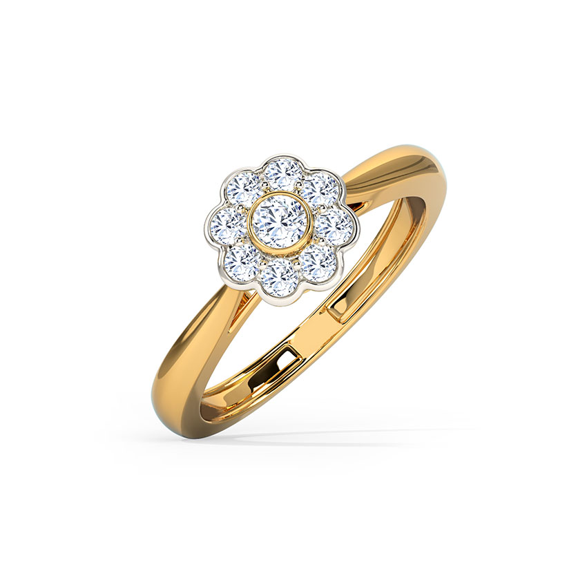 Buttercup Adjustable Ring