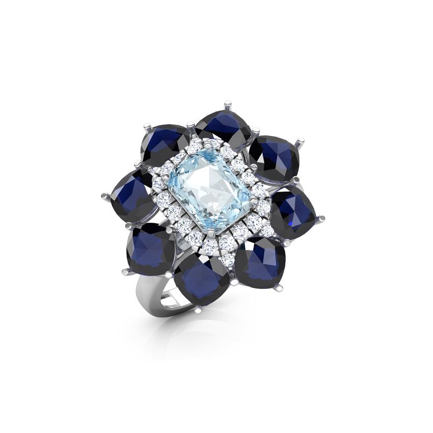Zia Floret Ring